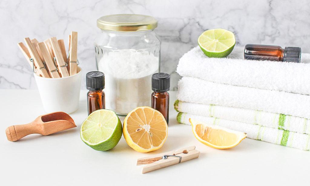 Domácí čistící prostředky