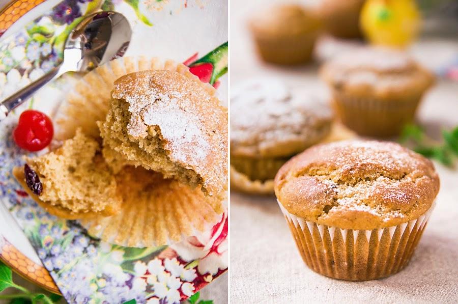 veganské muffiny s cizrnou