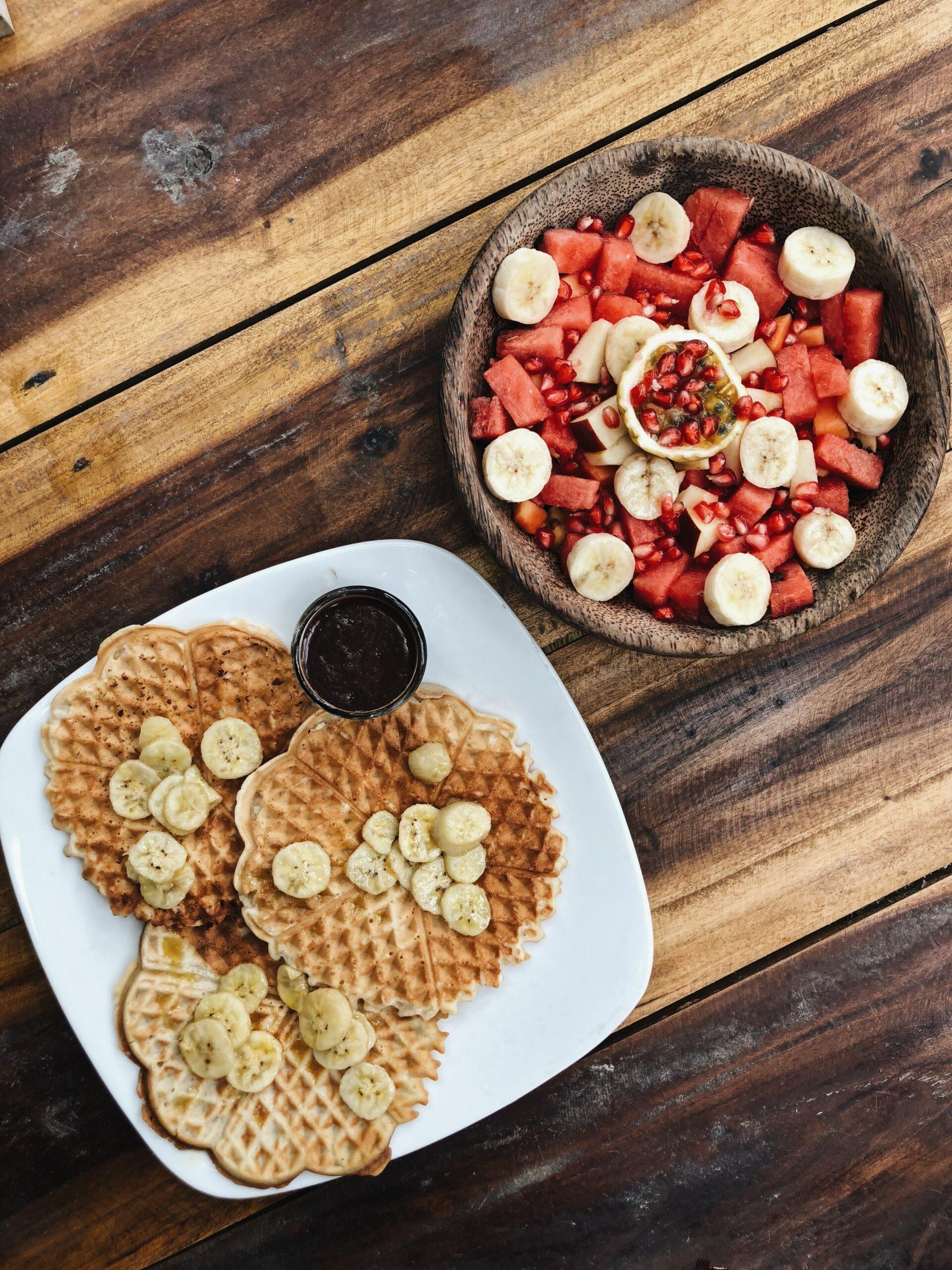 veganske waffle