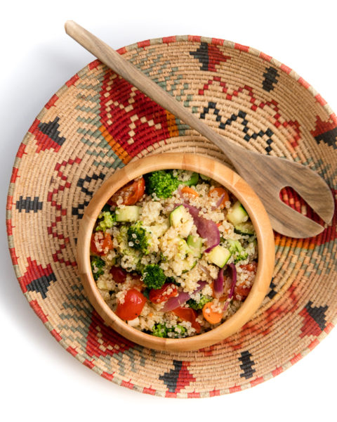 quinoa se zeleninou